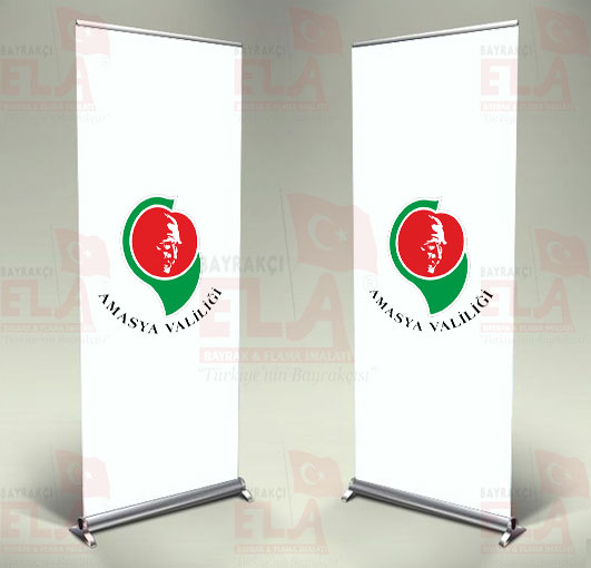 Amasya Valiliği Banner Roll Up
