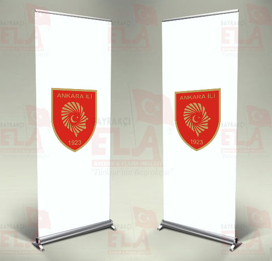 Ankara Valiliği Banner Roll Up