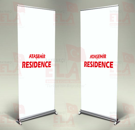 Ataşehir Residence Banner Roll Up