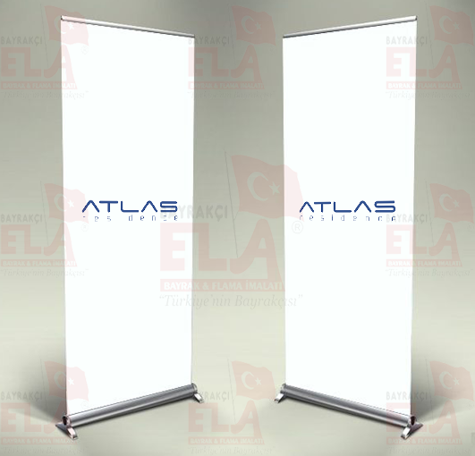 Atlas Residence Banner Roll Up