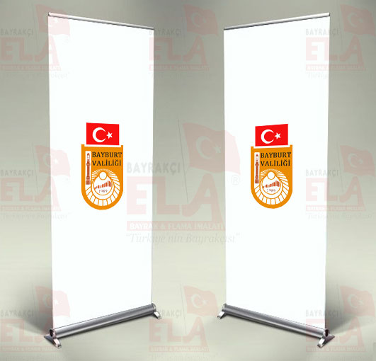 Bayburt Valiliği Banner Roll Up
