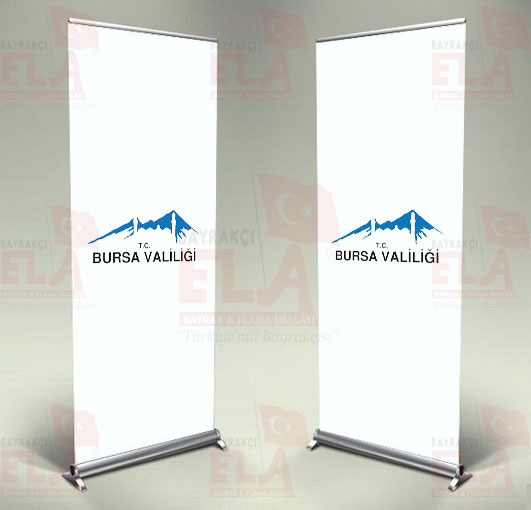 Bursa Valiliği Banner Roll Up
