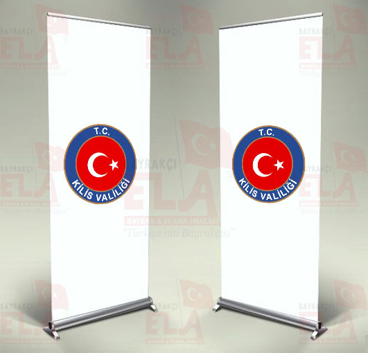 Kilis Valiliği Banner Roll Up