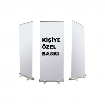 Özel Roll Up Banner Baskı Sat Banner Roll Up