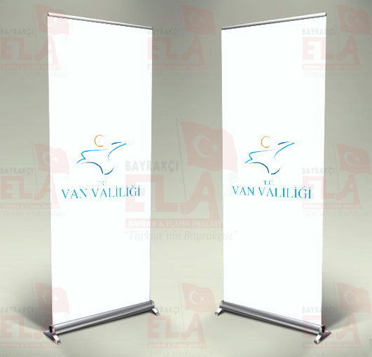 Van Valiliği Banner Roll Up